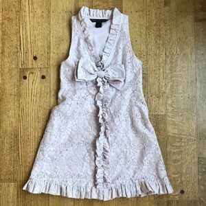 Marc Jacobs Size 0 pale lavender lace dress